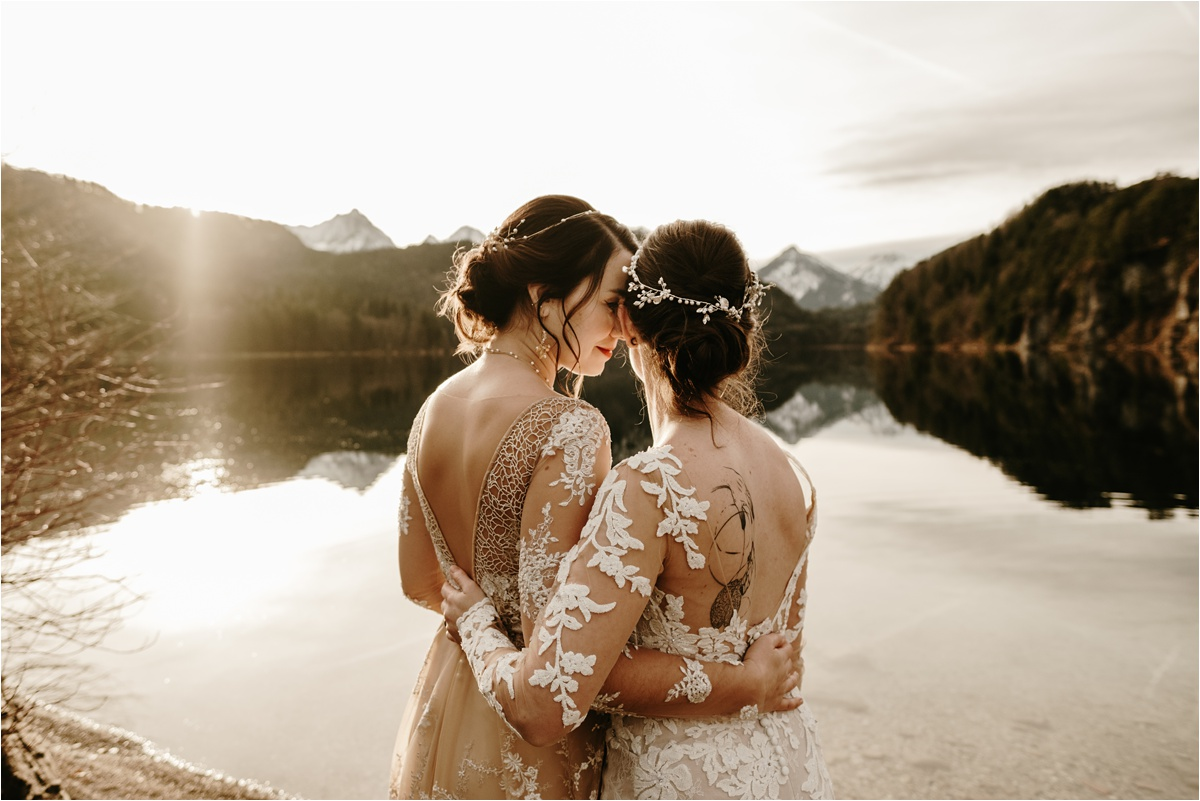 LGBT wedding in the Bavarian Alps by Wild Connections Photography