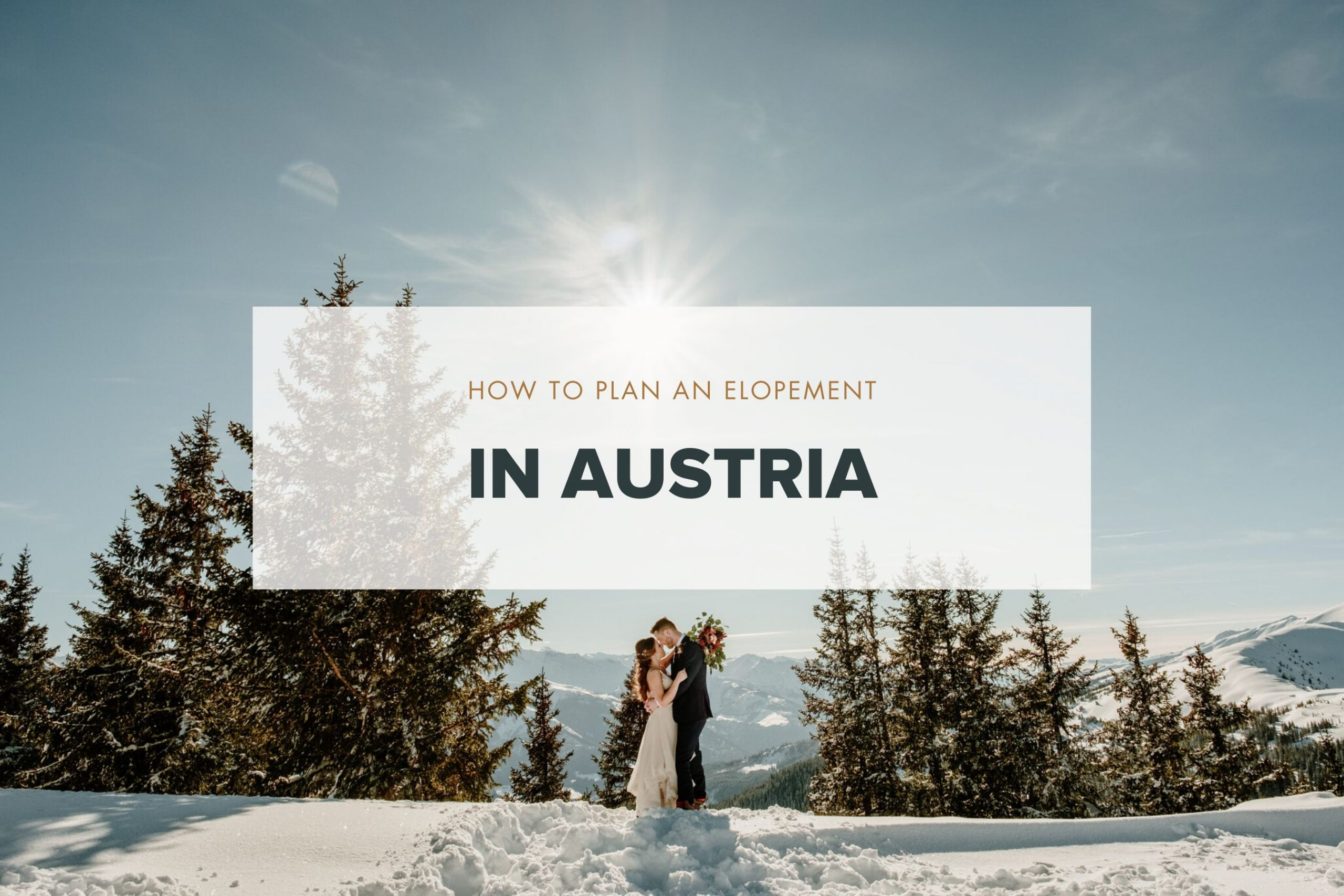 How to get married in Austria guide