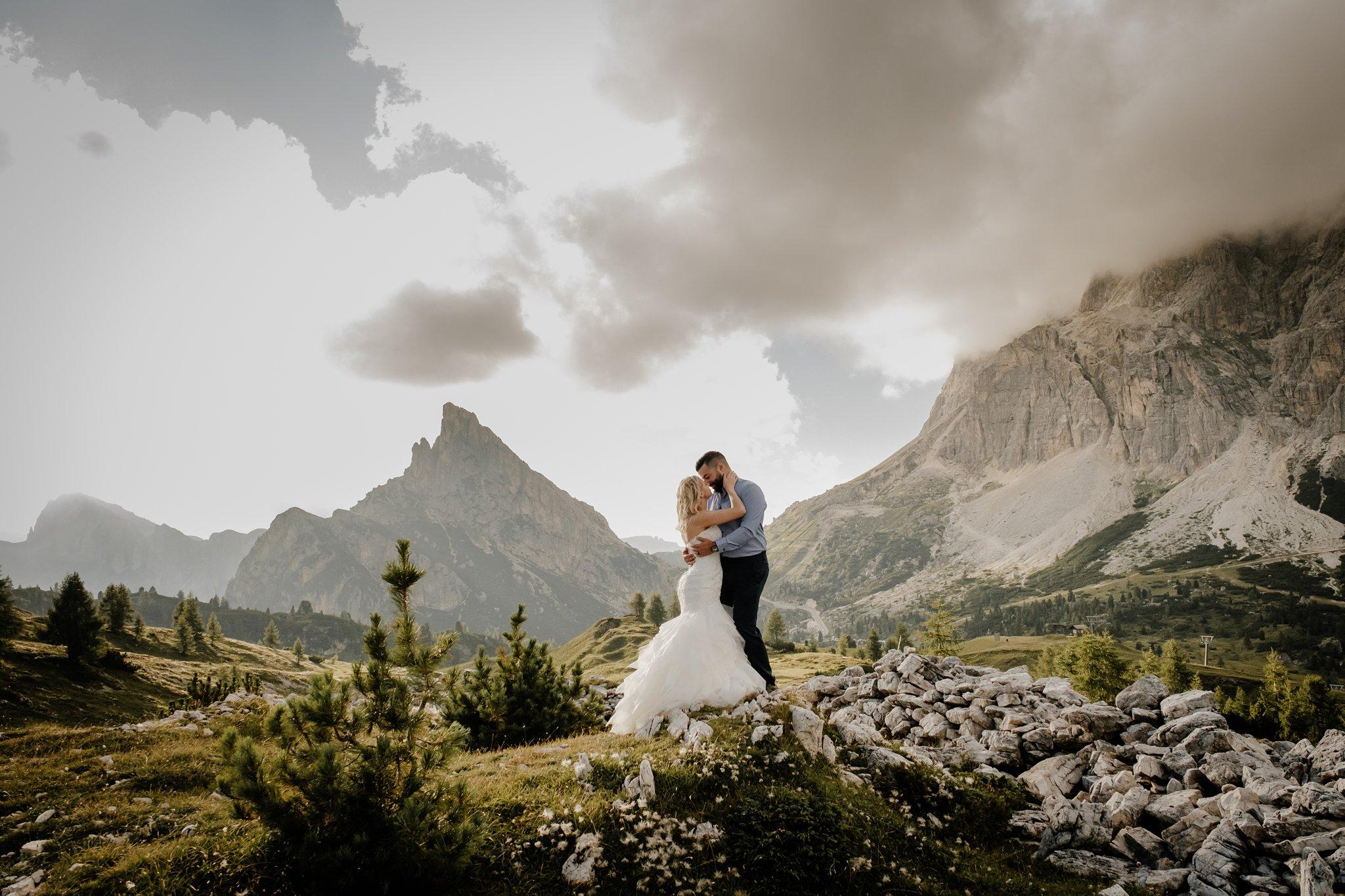 Dolomites honeymoon in Italy