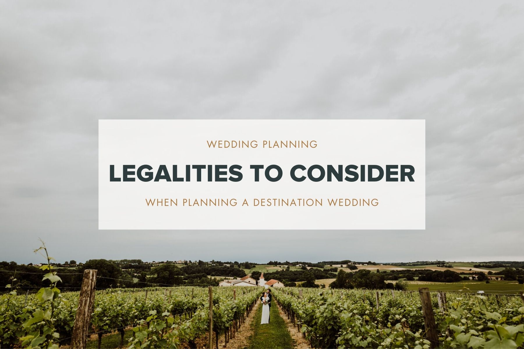 destination wedding legalities